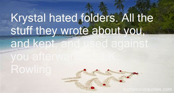 Quotes About Folders