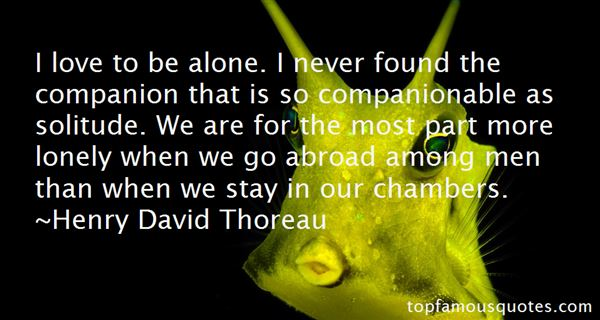 Quotes About Lonely