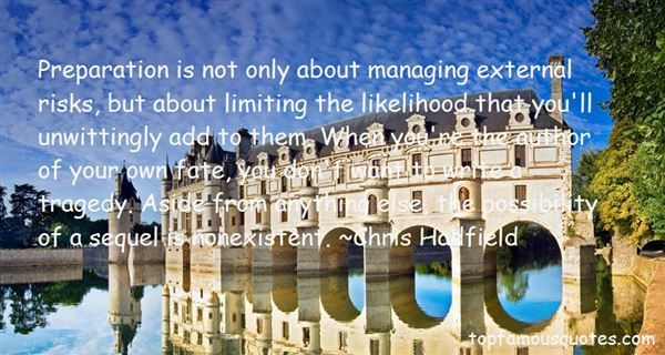 Quotes About Managing Risk