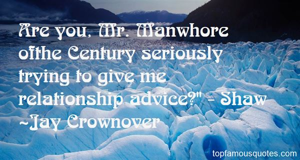 Quotes About Manwhore