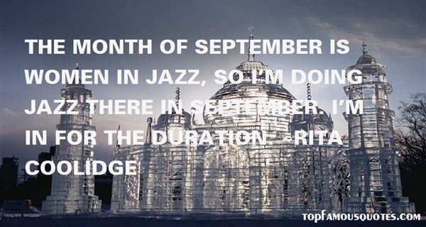Quotes About Month Of September