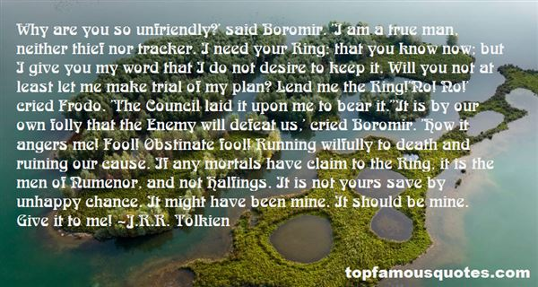 Quotes About Numenor