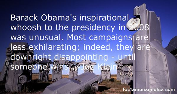 Quotes About Obama 2008
