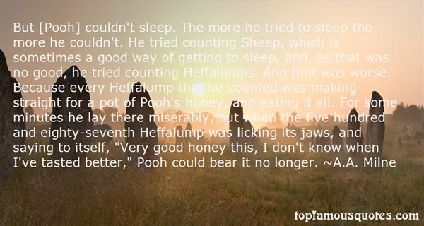 Quotes About Pooh Bear