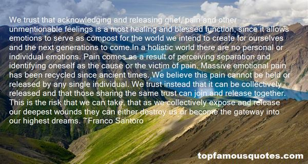 Quotes About Releasing Pain