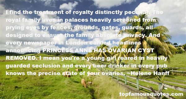 Quotes About Royal Palaces