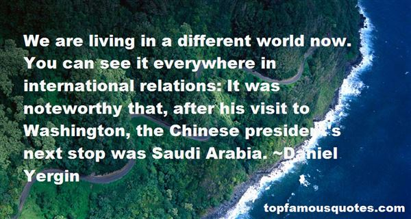 Quotes About Saudi