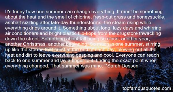 Quotes About Sizzling