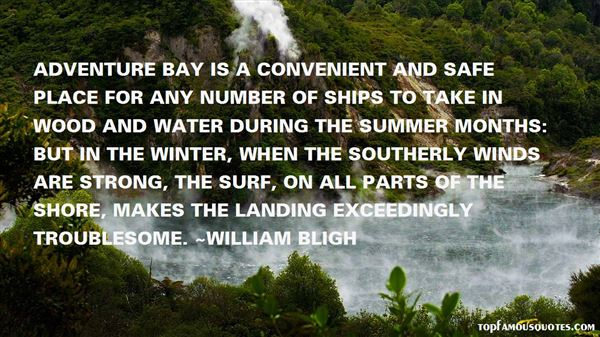 Quotes About Southerly