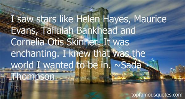 Quotes About Tallulah