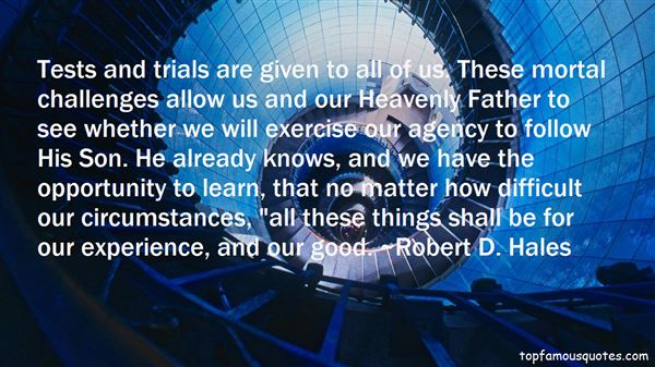 Quotes About Tests And Trials