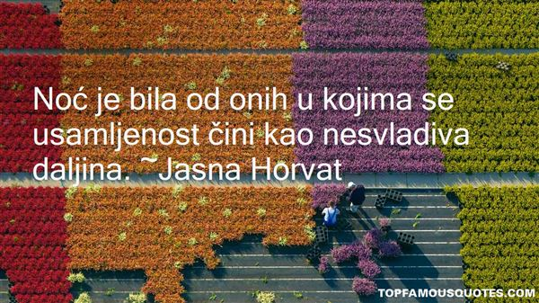 Quotes About Usamljenost