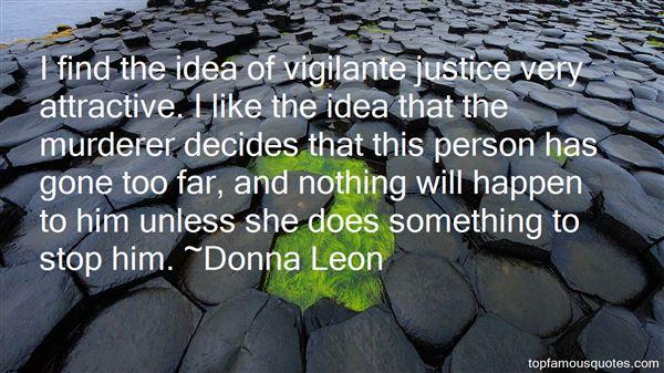 Quotes About Vigilante Justice