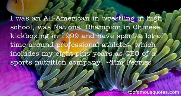 Quotes About Wrestling In High School