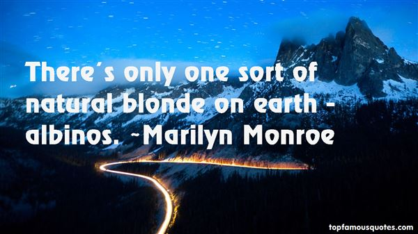 Quotes About Albinos