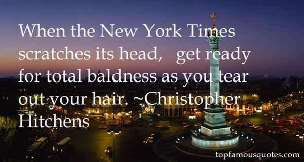 Quotes About Baldness