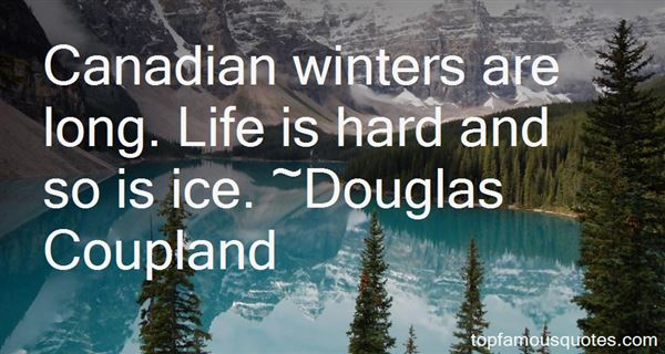 Quotes About Canadian Winters