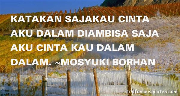 Quotes About Cinta Dalam Diam