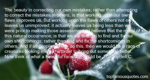 Quotes About Correcting Mistakes