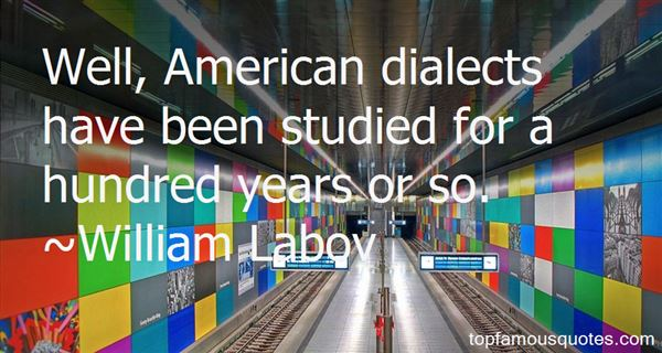 Quotes About Dialects