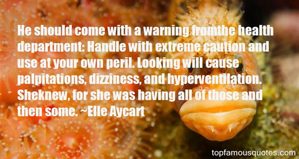 Quotes About Dizziness