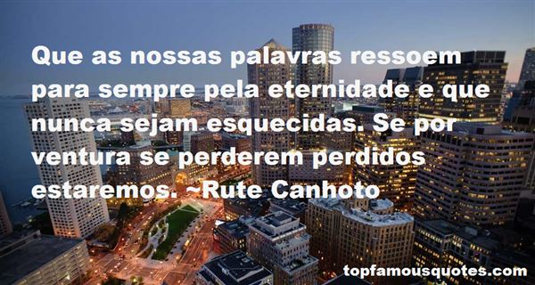 Quotes About Eternidade