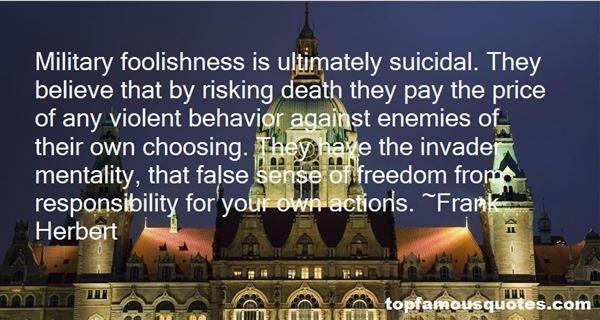 Quotes About Foolish Behavior