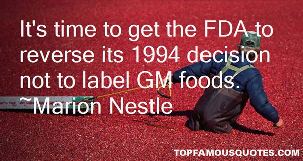 Quotes About Gm Foods