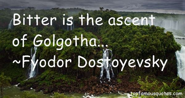 Quotes About Golgotha