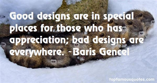 Quotes About Good Designs