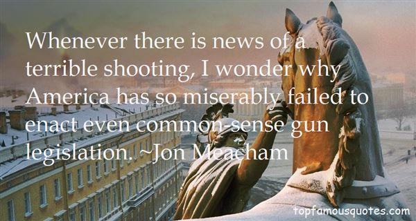 Quotes About Gun Legislation