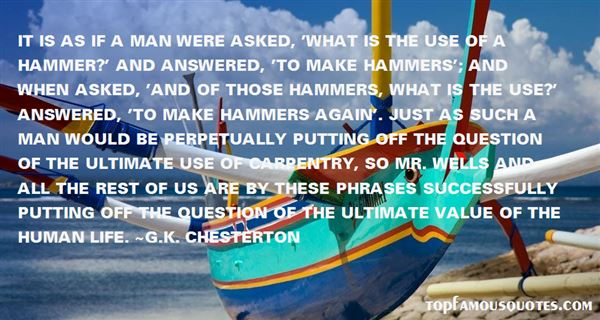 Quotes About Hammers
