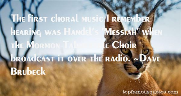 Quotes About Handel Messiah