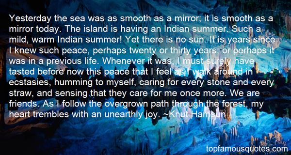 Quotes About Indian Summer