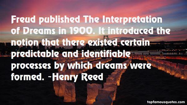 Quotes About Interpretation Of Dreams