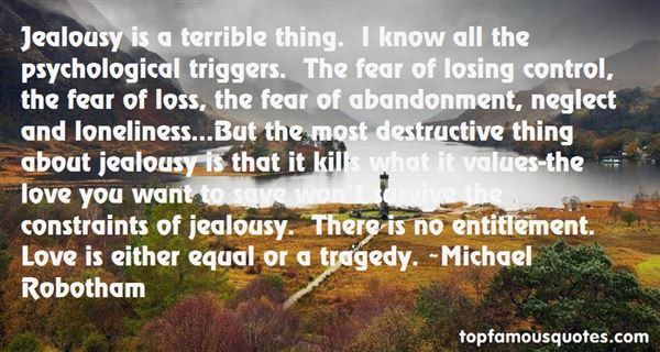 Quotes About Jealousy And Love