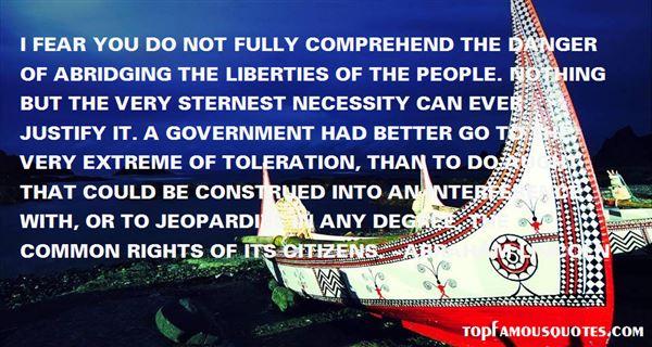 Quotes About Jeopardize