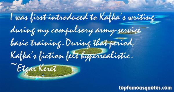 Quotes About Kafka Writing