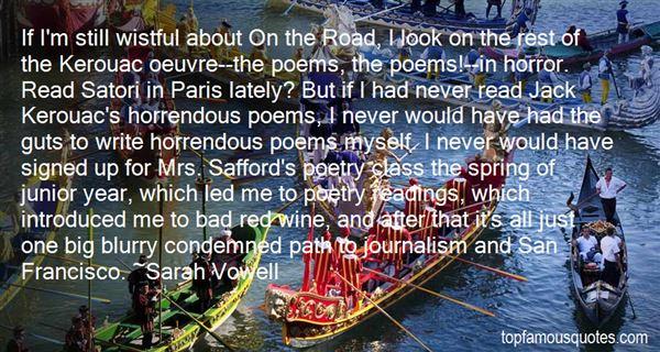 Quotes About Kerouac San Francisco