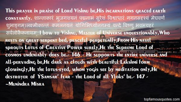 Quotes About Lord Vishnu