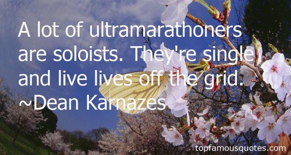 Quotes About Marathon