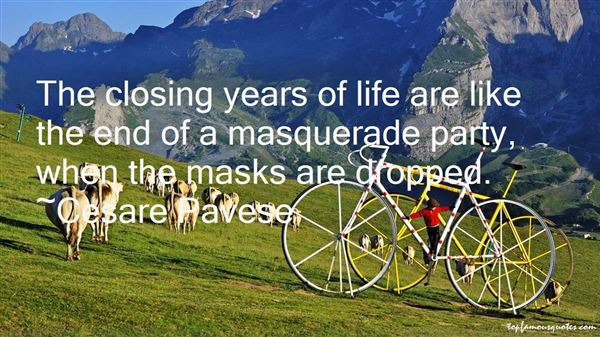 Quotes About Masquerade Masks