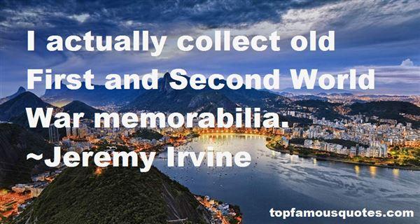 Quotes About Memorabilia