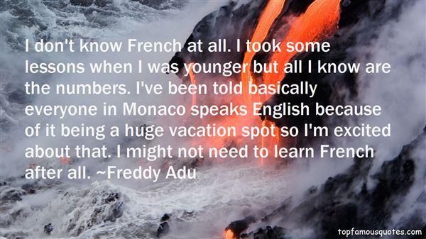 Quotes About Monaco