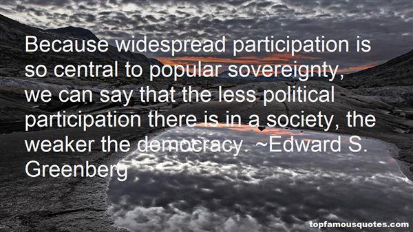 Quotes About Participation