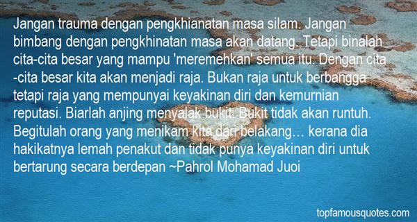 Quotes About Pengkhianatan