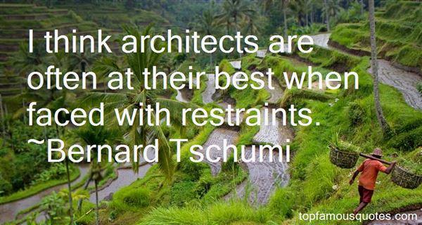 Quotes About Restraints
