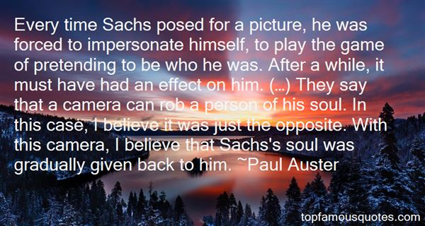 Quotes About Sachs
