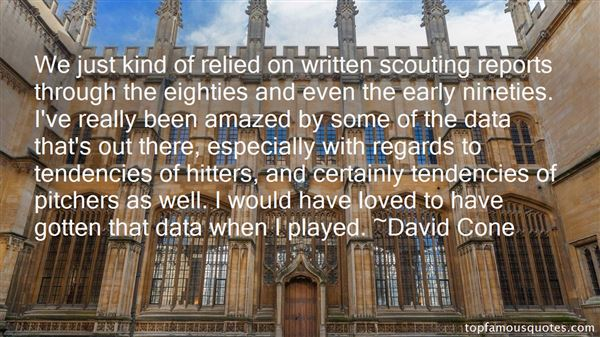 Quotes About Scouting
