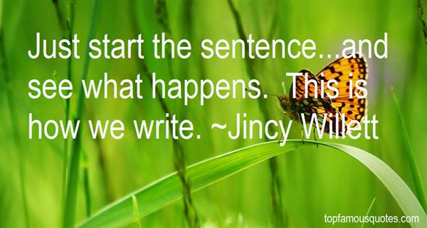 Quotes About Sentence